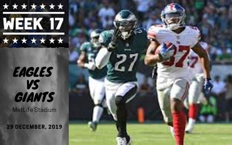 Eagles vs NY Giants Radio Transmission & Prediction